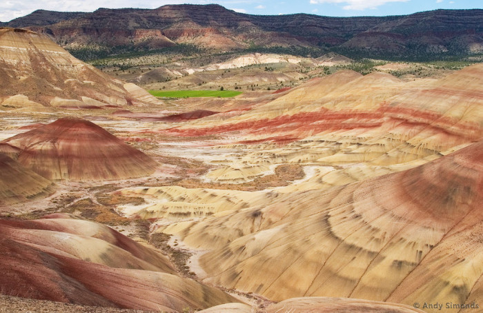 The Painted Hills are a wonder to behold.