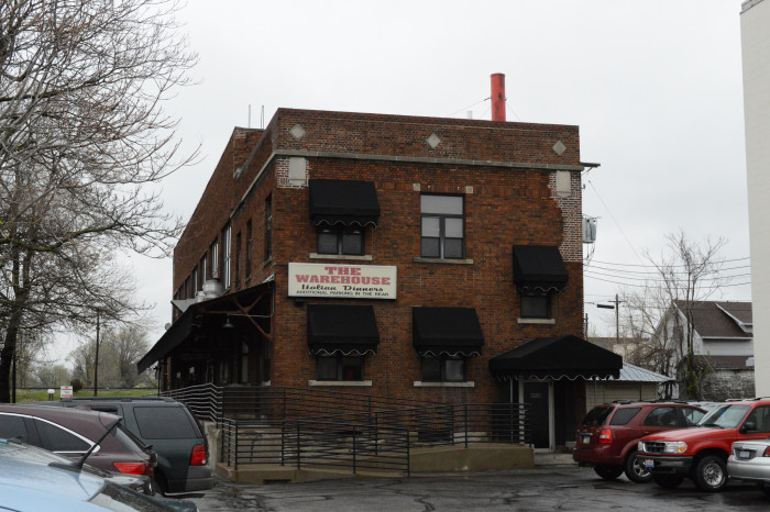 12. The Warehouse Italian Dinners (Delaware and Marion)