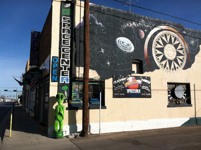 7. The city of Roswell