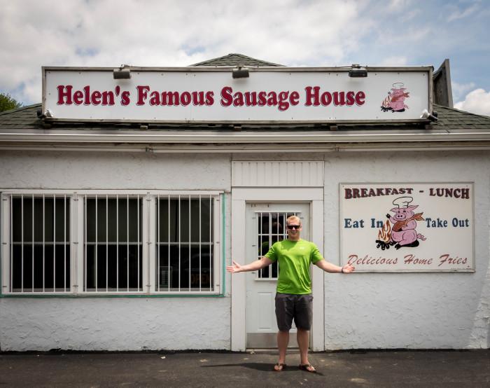 1. Helen's Sausage House, Smyrna