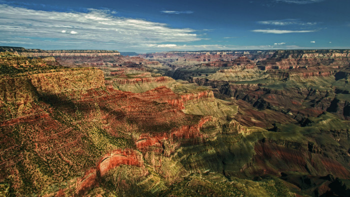 2. We have the Grand Canyon, one of the world's seven natural wonders and the only one existing in the United States.
