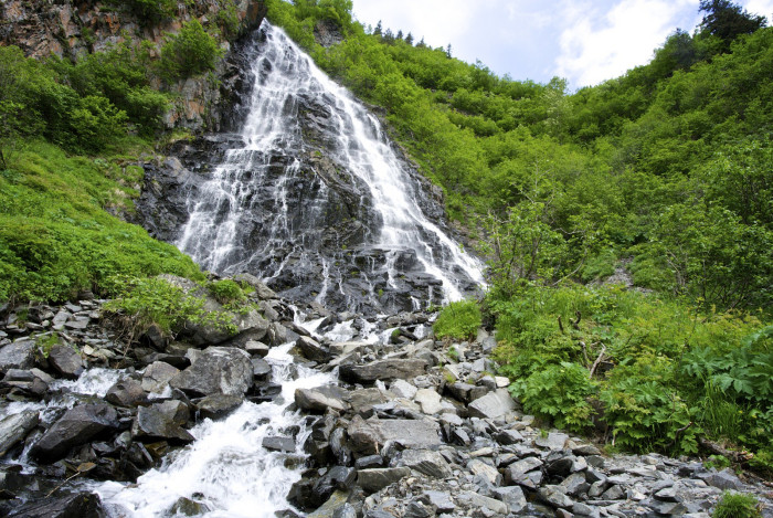 8. Horsetail Falls
