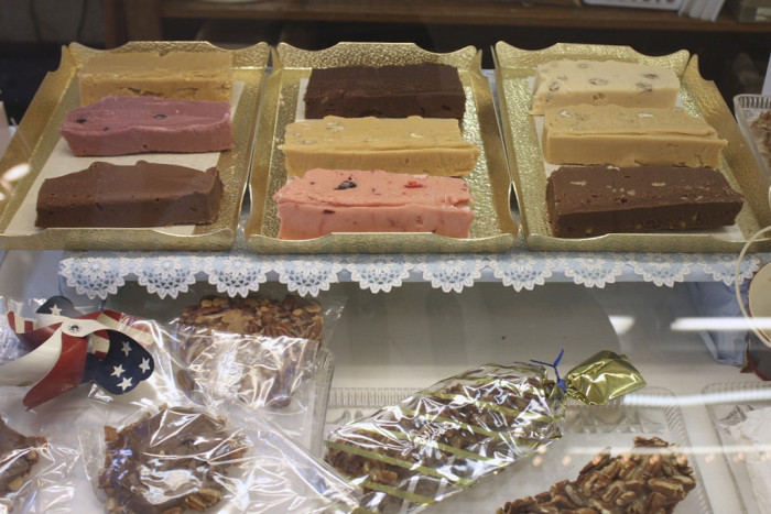 4. Mackinac Island fudge