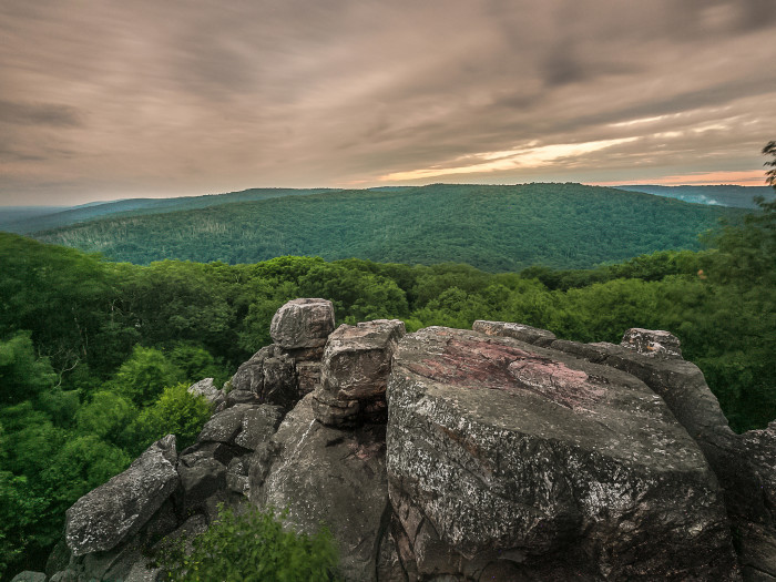 13) Enjoy the Maryland scenery from an epic overlook.