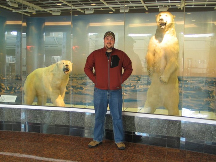 8. You're probably immune to the animals at the Ted Stevens Airport by now.