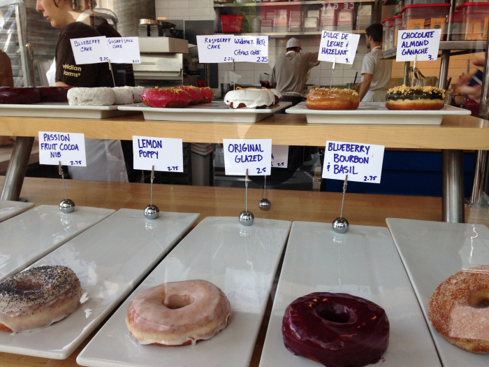8. When you're craving a donut in Portland, try Blue Star