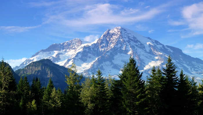 12. And there's nothing more breathtaking than seeing the Olympics, Cascades or Mount Rainier in the distance.