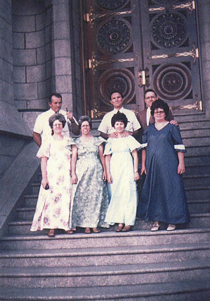 6. Salt Lake Temple, 1977