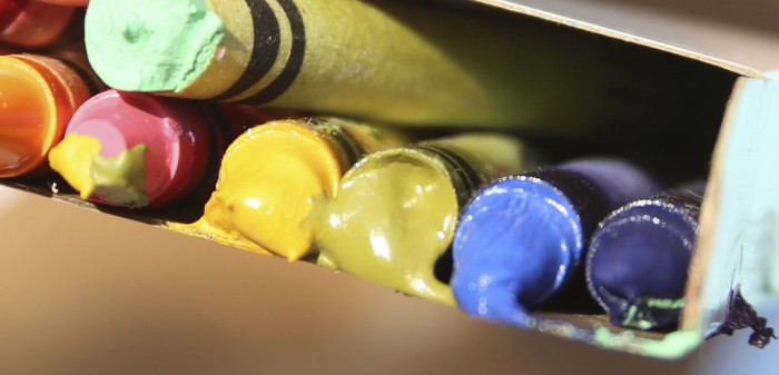 13. You learn quickly that crayons and lip balm will not last long in your car in the summer.