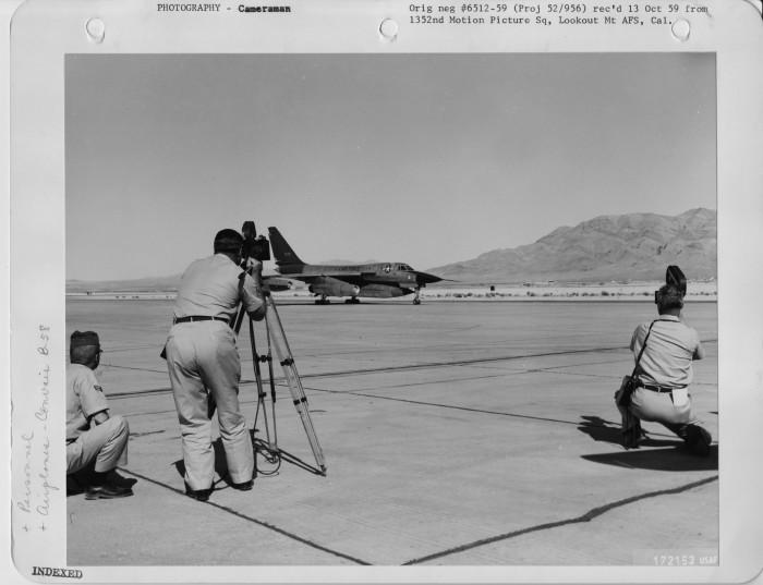 2. Nellis Air Force Base, 1959
