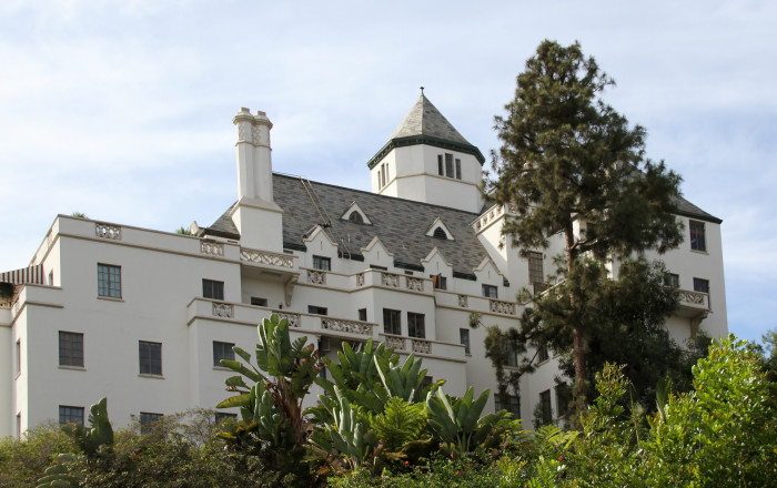 1. Chateau Marmont in West Hollywood