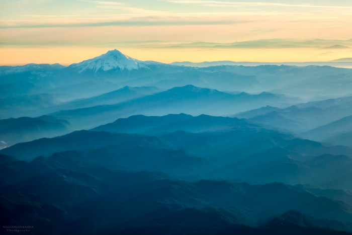 12. Misty Oregon mountaintops:
