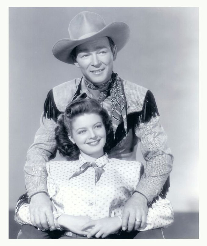 4. Roy Rogers attended the rodeo in 1956 to browse the livestock exhibits, sporting a fireman's uniform, glasses, and a fake mustache to disguise himself for fear of being mobbed by fans.