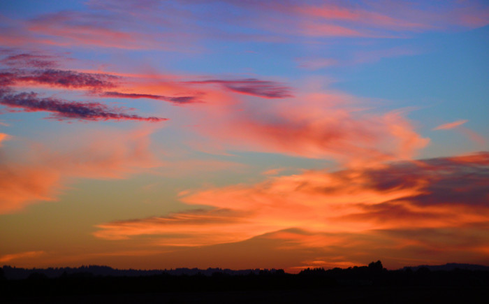 9. You can't top an Oregon sunset.