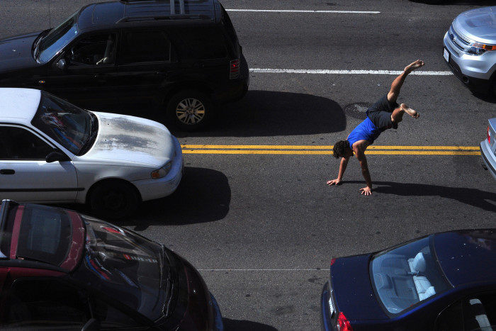 6. In Hartford, you aren't allowed to cross a street while walking on your hands.