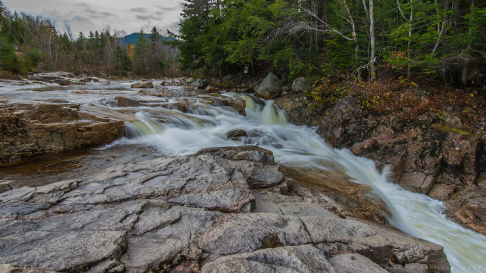 6. The Swift River, which runs along the Kancamagus Highway, is powerful and awe-inspiring.