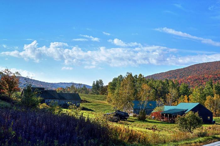 6.  A farm in the valley near the Appalachian Gap.