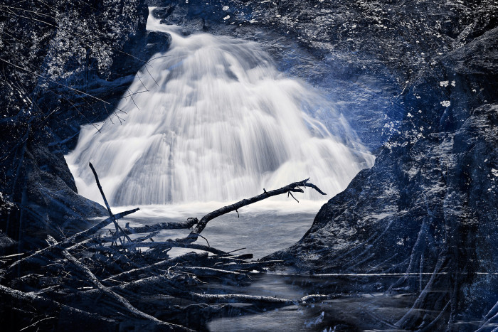 17) Cunningham Falls like you've never seen it before.