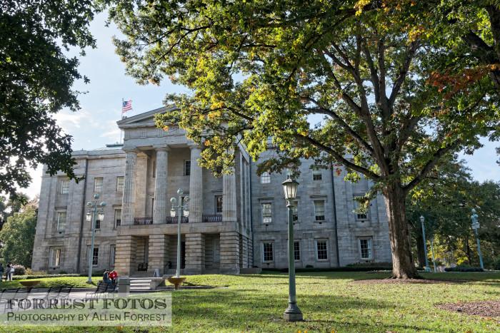 2. North Carolina State Capitol Building