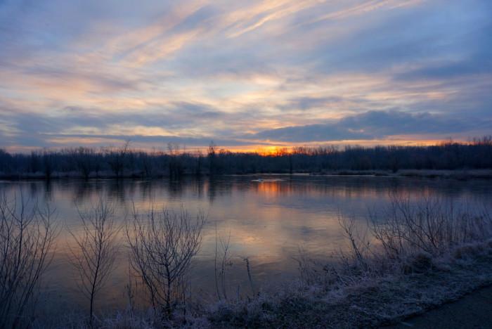 7. You'll miss Michigan sunrises.