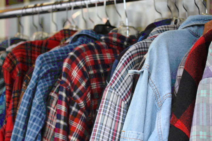 7. We wear only plaid and flannel.