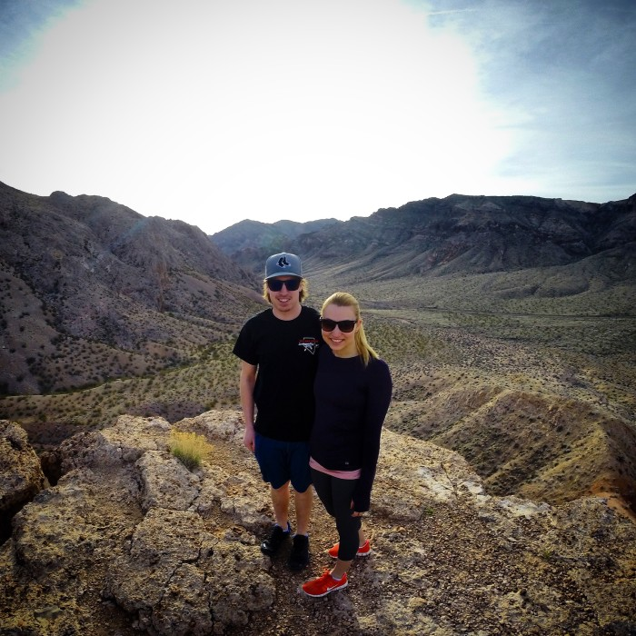 9. Spend the day hiking and exploring one of Nevada's many state parks.