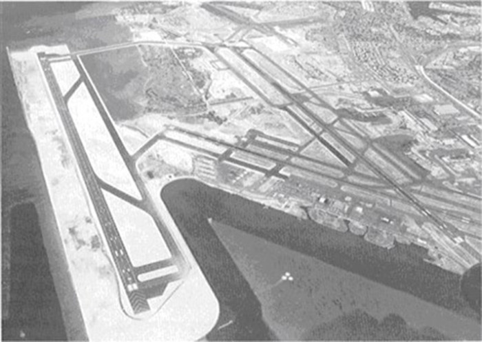 16. Hickam Air Force Base, as photographed in 1977.