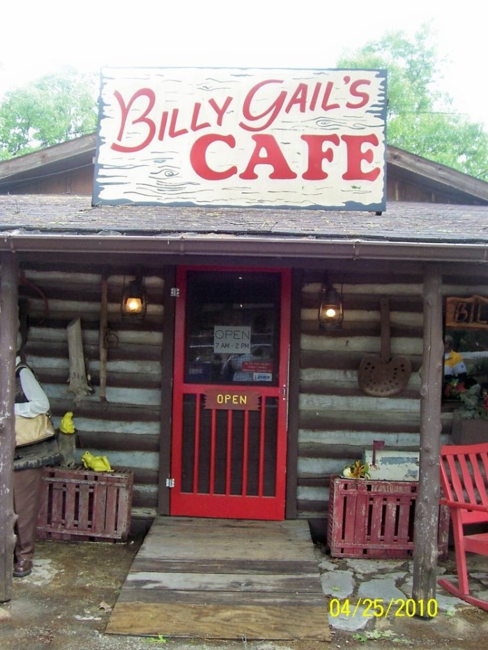 16.Billy Gail's Café, Branson