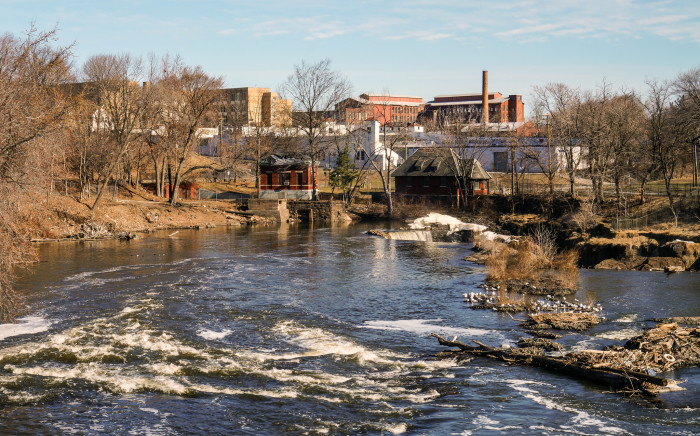 9. The bottom of the Passaic River is loaded with Dioxin, and it is one of the most polluted waterways in the nation.