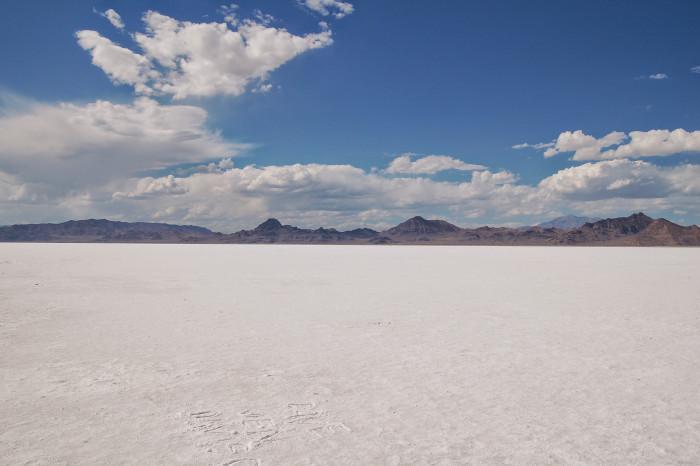 13. Bonneville Salt Flats