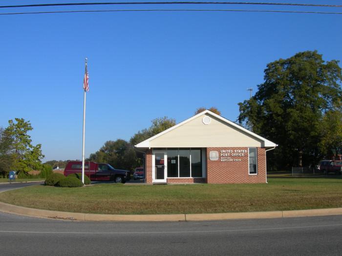 10. Marydel, Caroline County