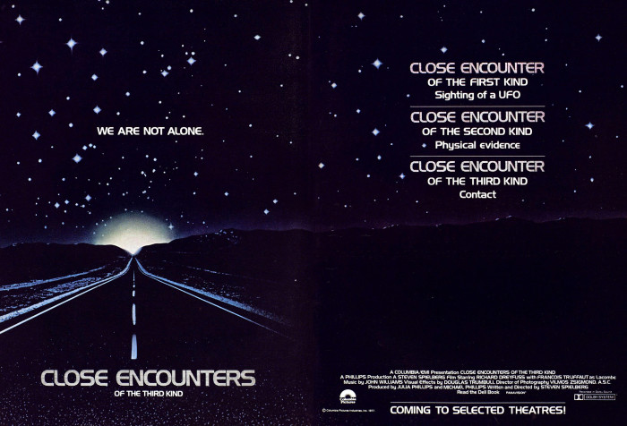 3. Close Encounters of the Third Kind