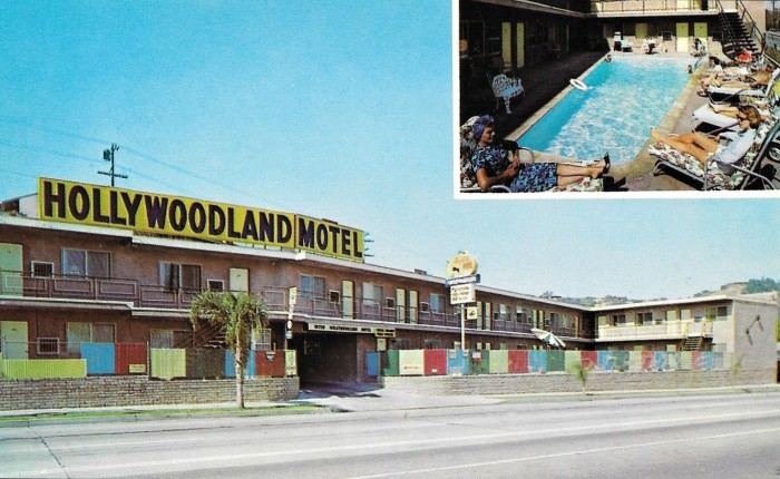8. Hollywoodland Motel on Ventura Blvd in North Hollywood.
