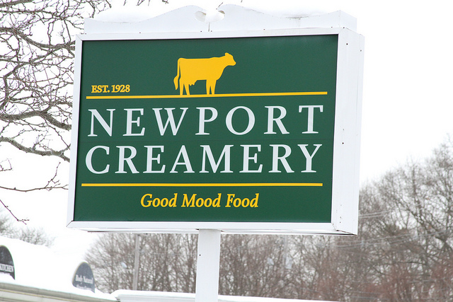 "5. We all miss the Newport Creamery an ""awful awful"" lot when we're not near one."