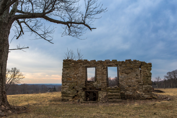 4. While exploring rural parts of the state, you may stumble onto old treasures, like these ruins in Monkton...