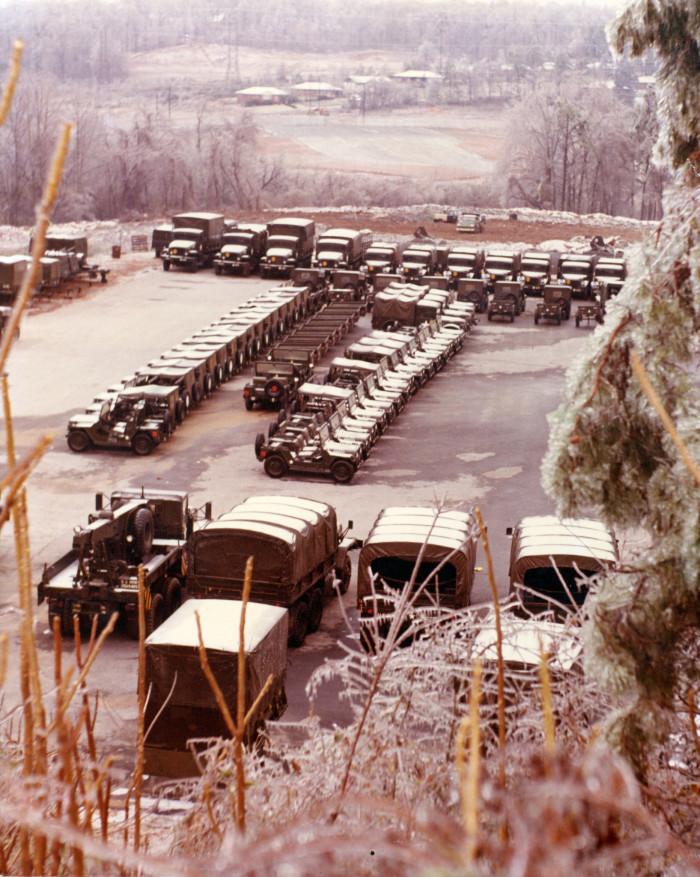 6. Atlanta headquarters of the Georgia Army National Guard 1973.