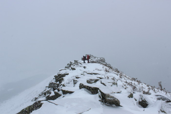 """8. """"In a world where a July Katahdin hike turns...chilly..."""""""