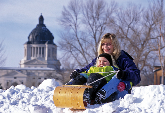snow days - things everyone in south dakota absolutely loves