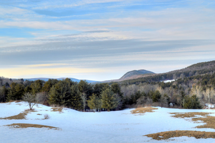 2. Mount Tom as seen from Alford in the Berkshires.