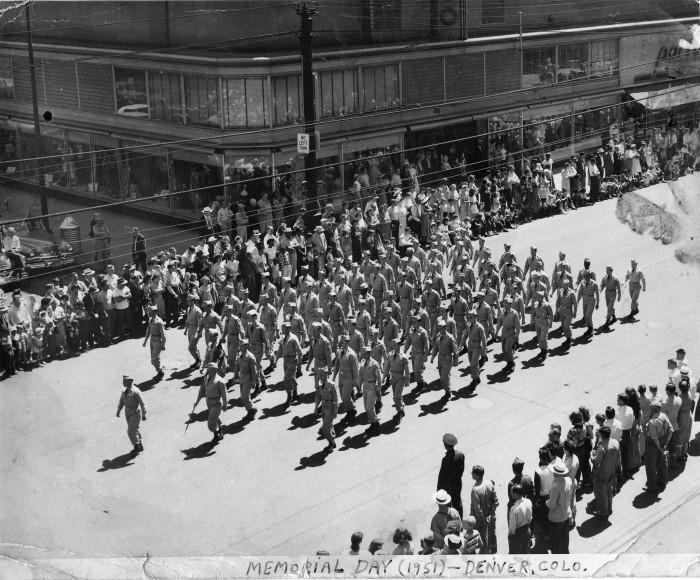 """5. """"Fitzsimons Army Hospital, Denver."""" (1951)"""
