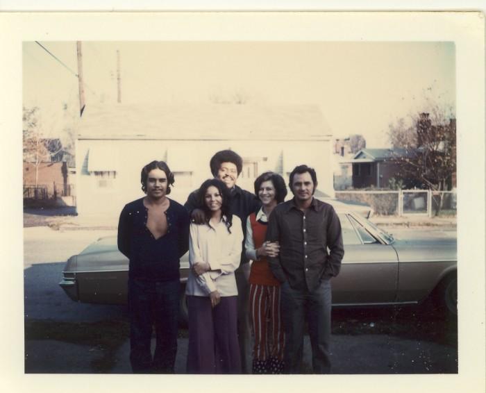 16.  Richard, Alice, Jerry, Mary, and Ernie, November 1972.