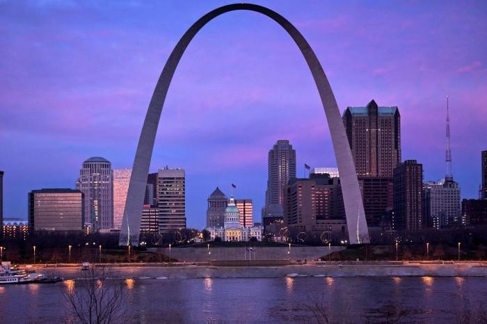15.  St. Louis Gateway Arch