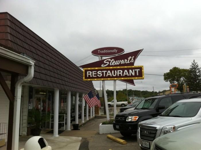Robert Stewarts Restaurant Menu