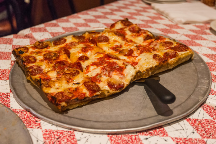 6. Detroit square pizza