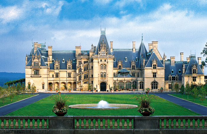 5. Biltmore Estate is beyond romantic. It's perfect for an old-fashioned romantic or one who loves an elegant setting.