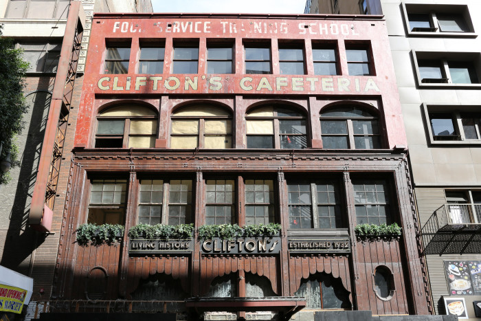 2. Clifton's Cafeteria, Los Angeles