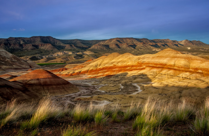 9. The Painted Hills