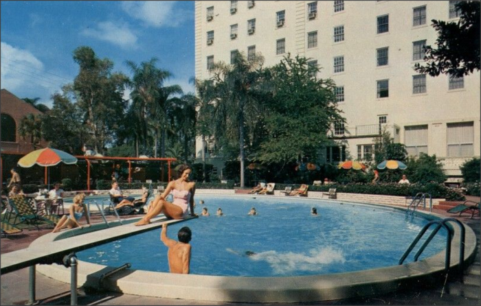 """17. """"Jack Tar Hotel Poolside view; Clearwater, Florida: The Ultimate in Fine Living!"""""""