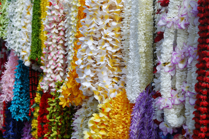 18) How cool is it that leis are customary to give someone when arriving in Hawaii?