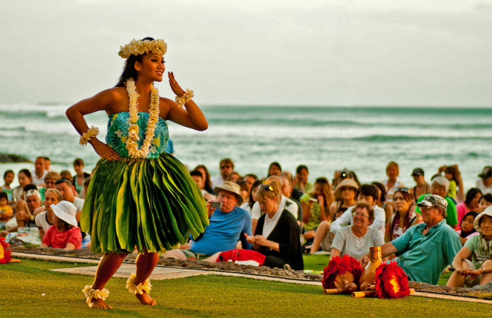 18) The hula was originally a form of worship performed only by highly trained men who were allegedly taught by Luka, a Hawaiian god.